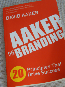 Aaker on Branding Book